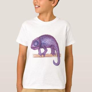 紫色のカメレオン Tシャツ