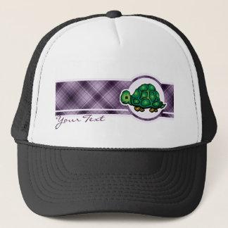 紫色のカメ キャップ