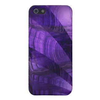 紫色のカメ iPhone 5 COVER