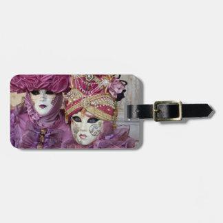 紫色のカーニバルの衣裳、ベニス ラゲッジタグ