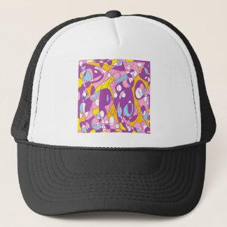 紫色のカーブ キャップ