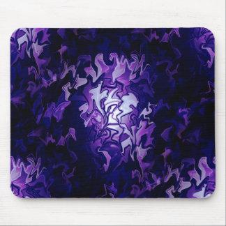紫色のキャベツ畑… マウスパッド