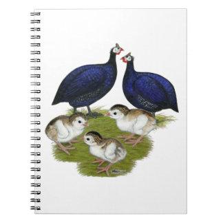 紫色のギニー家族 ノートブック
