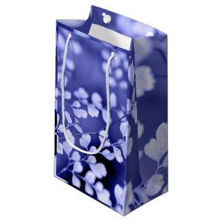 紫色のギフトバッグ スモールペーパーバッグ