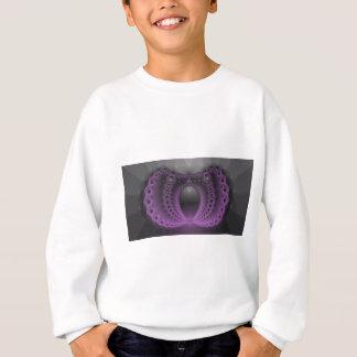 紫色のギーク スウェットシャツ