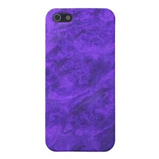 紫色のクルミのiPhoneの箱の隠されたイヌ科動物 iPhone 5 ケース