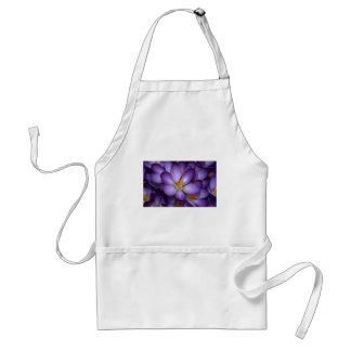 紫色のクロッカスの花 スタンダードエプロン