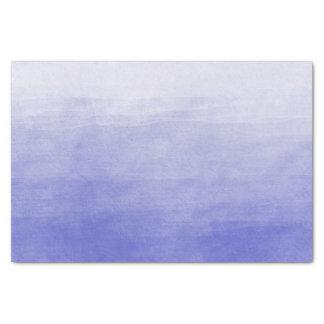 紫色のグラデーションな水彩画 薄葉紙