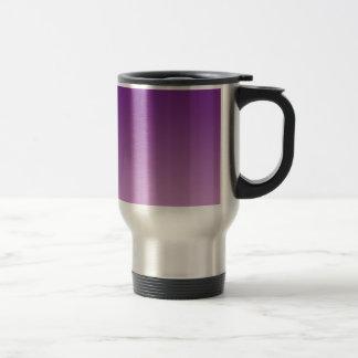 紫色のグラデーション トラベルマグ