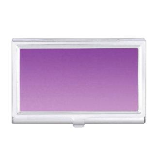 紫色のグラデーション 名刺入れ