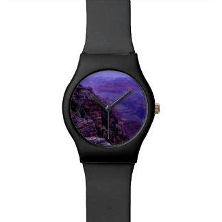 紫色のグランドキャニオンの腕時計 腕時計