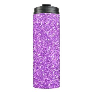紫色のグリッターのダイヤモンド タンブラー