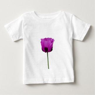 紫色のケシ ベビーTシャツ
