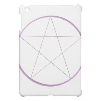 紫色のゲルの星形五角形 iPad MINIケース