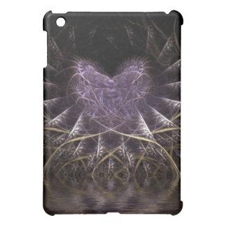 紫色のゴシック様式ハートのiPadの箱 iPad Mini カバー