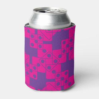 紫色のサイコロ 缶クーラー