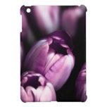 紫色のサテン iPad MINI カバー