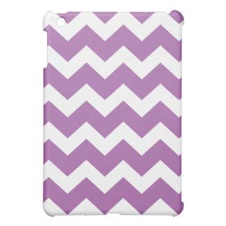 紫色のシェブロン() iPad MINIカバー