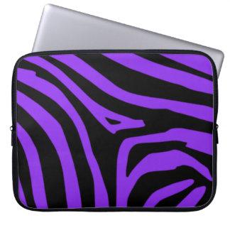 紫色のシマウマ ラップトップスリーブ