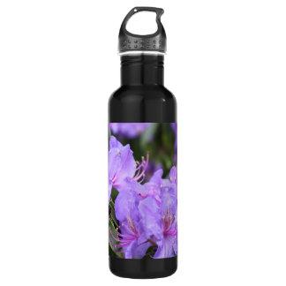 紫色のシャクナゲの花 ウォーターボトル