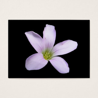紫色のシャムロックの~ ATC 名刺