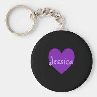 紫色のジェシカ キーホルダー