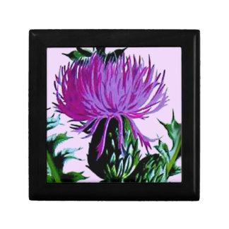 紫色のスコットランドの庭のアザミ ギフトボックス