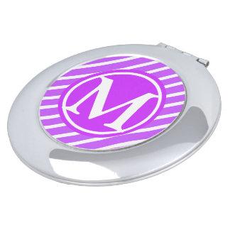 紫色のストライプなD1モノグラム
