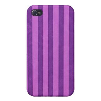 紫色のストリップ、 iPhone 4/4Sケース