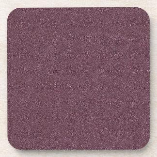 紫色のスネークスキン コースター