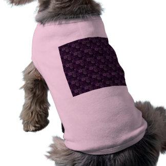紫色のタイル ペット服