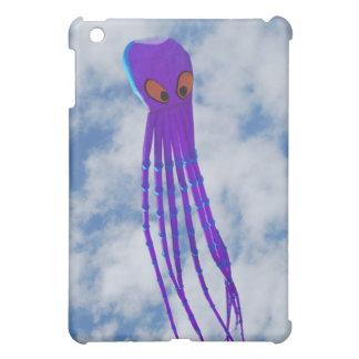 紫色のタコ凧 iPad MINIケース