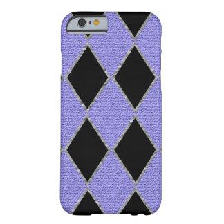 紫色のダイヤモンドの輝きの携帯電話の箱 BARELY THERE iPhone 6 ケース