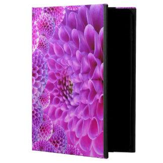 紫色のダリア POWIS iPad AIR 2 ケース