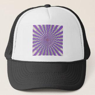 紫色のチャクラ-クールな紫色の微風 キャップ