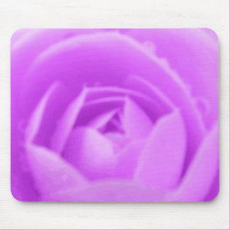 紫色のツバキの花のマウスパッド マウスパッド