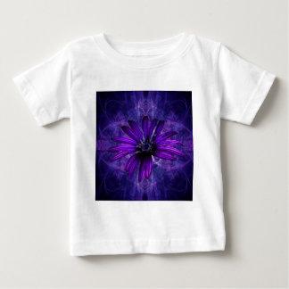 紫色のデイジーの情熱 ベビーTシャツ