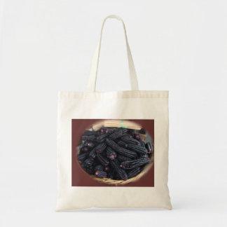 紫色のトウモロコシ トートバッグ