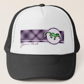 紫色のトカゲ キャップ