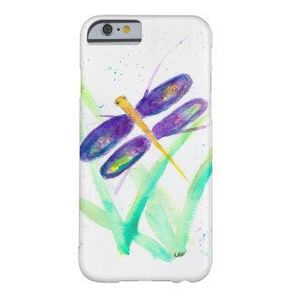 紫色のトンボのiPhone6ケース Barely There iPhone 6 ケース