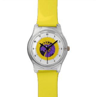 紫色のドラゴンの漫画 腕時計