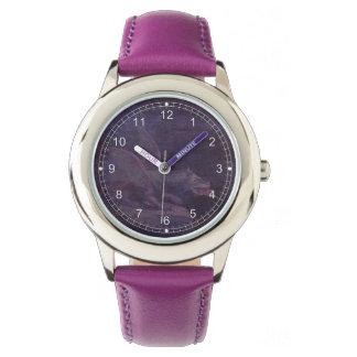 紫色のドラゴン 腕時計