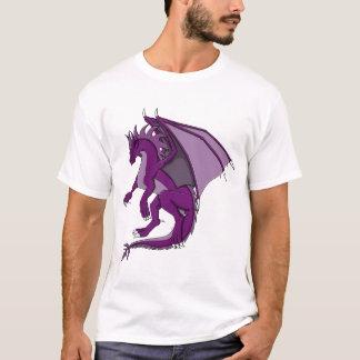 紫色のドラゴン Tシャツ