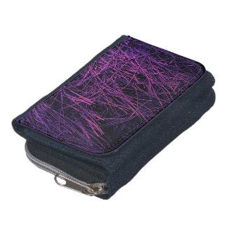 紫色のネオンわらの抽象芸術の質