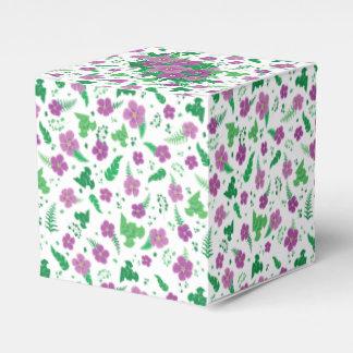 紫色のハイビスカス フェイバーボックス