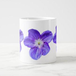 紫色のバイオレットの専門のジャンボマグ ジャンボコーヒーマグカップ