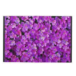 紫色のバイオレットの花柄の背景
