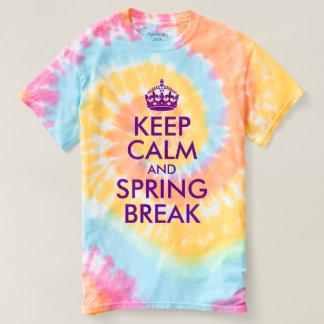 紫色のバイオレットは平静およびあなたの文字を保ちます Tシャツ