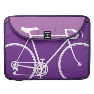 """紫色のバイクのデザインMacbookプロ15""""ラップトップの箱 MacBook Proスリーブ"""