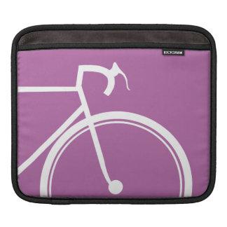 紫色のバイク iPadスリーブ